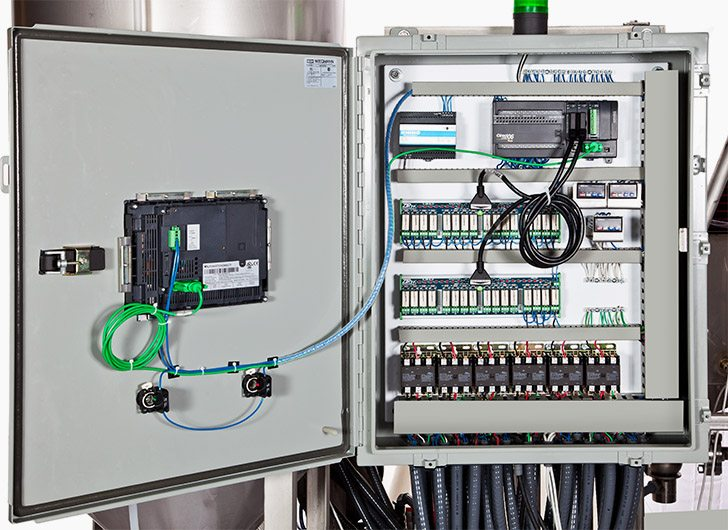 PLC electrical terminal