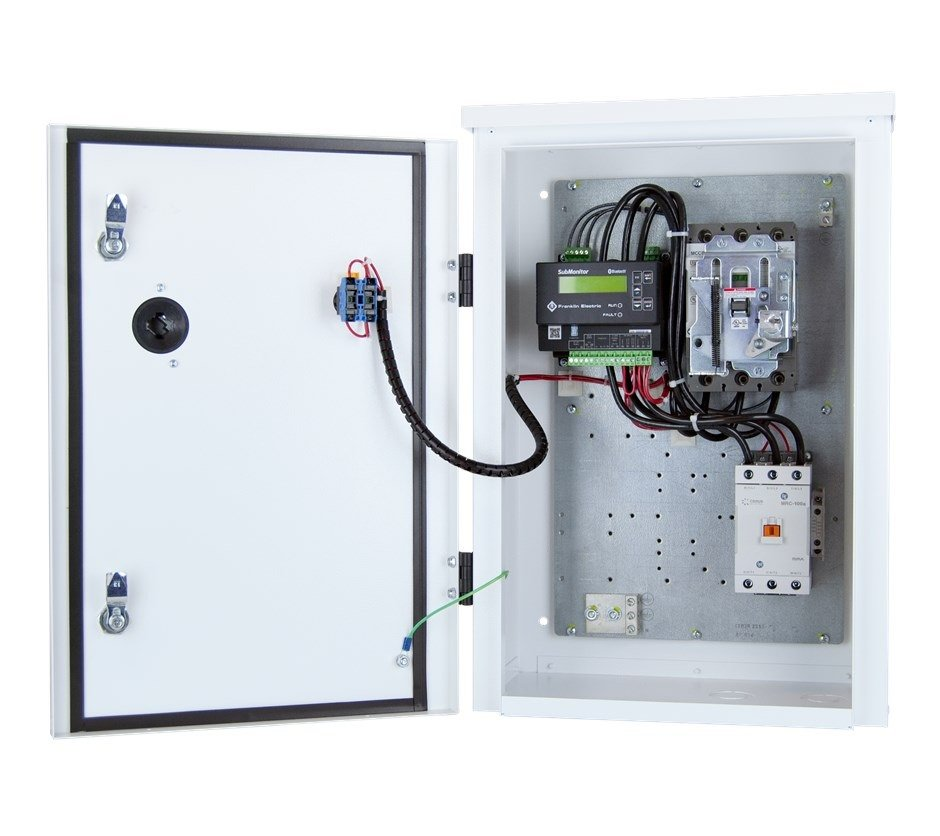 Electrical enclosure for pumps