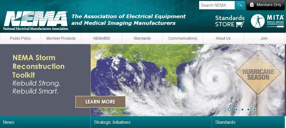NEMA Homepage