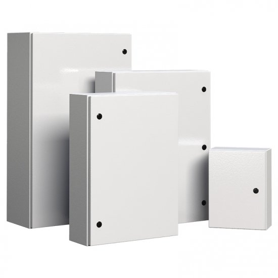 Different sizes of steel electrical enclosure