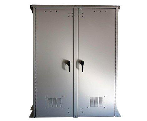 Double door large electrical enclosure