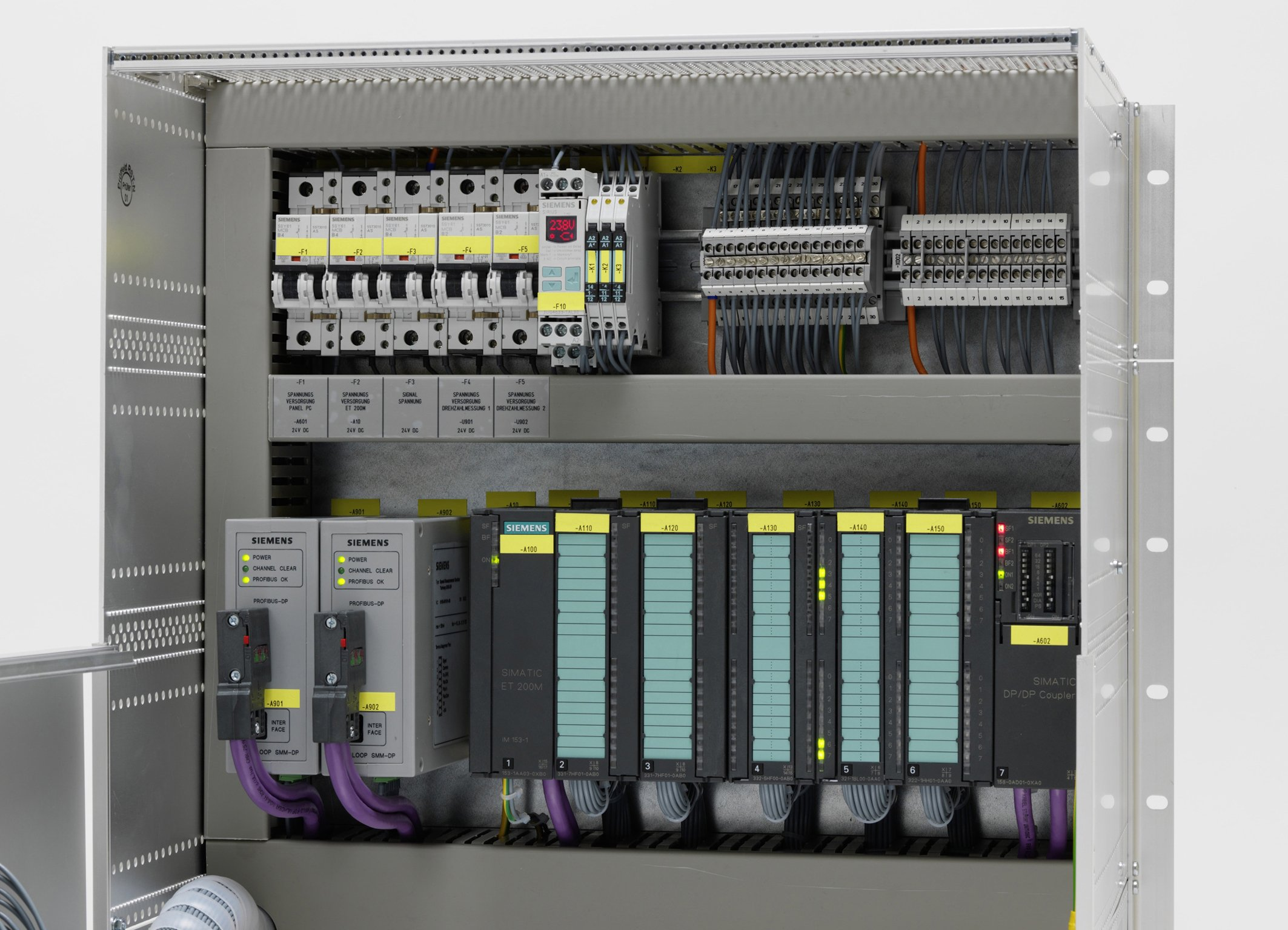 Regelungssystem Turloop CS fuer Industriedampfturbinen