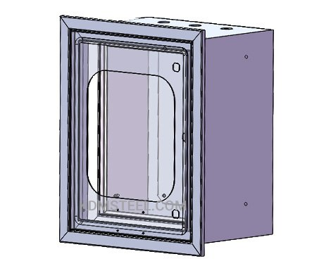 carbon steel Recessed Electrical Enclosure