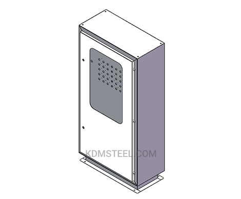 carbon steel wall mount lockable electrical enclosure