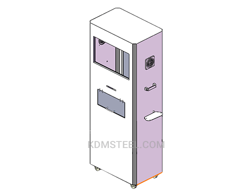 custom lockable Hinged Electrical Enclosure with window