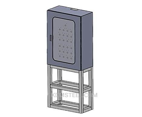floor stand lockable electrical enclosure