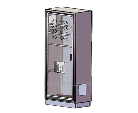 free standing corrosion resistant lockable electrical enclosure