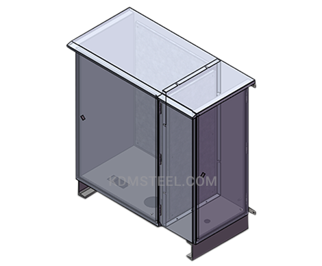 outdoor IP 65 wall mount steel electrical enclosure