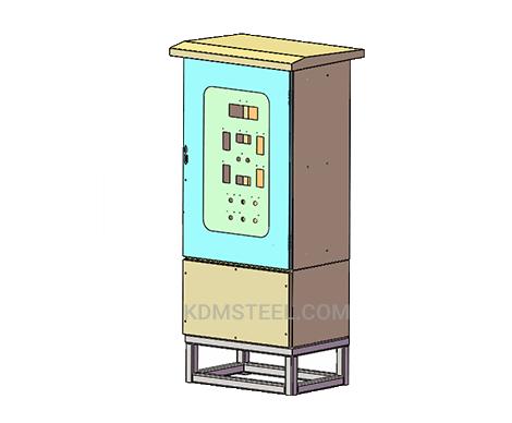outdoor modular electrical enclosure