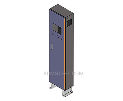 stainless steel free standing lockable electrical enclosure
