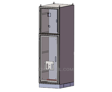 steel free standing electrical panel enclosure