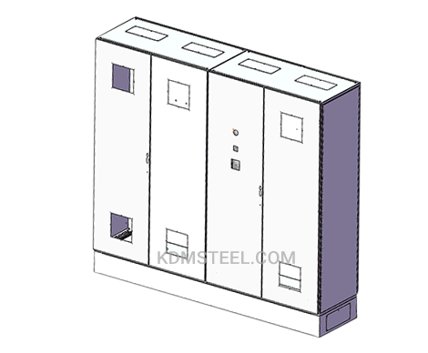 steel multi door lockable electrical enclosure