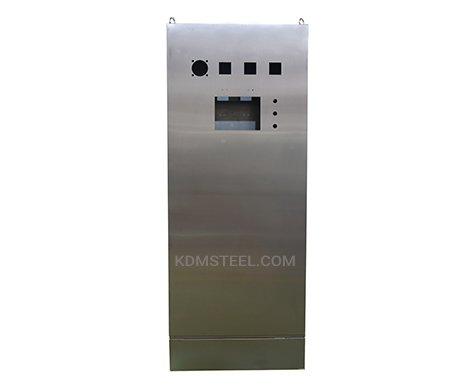 Single door electrical enclosure