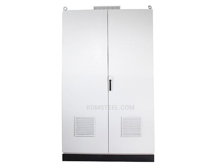 Double door electrical enclosure