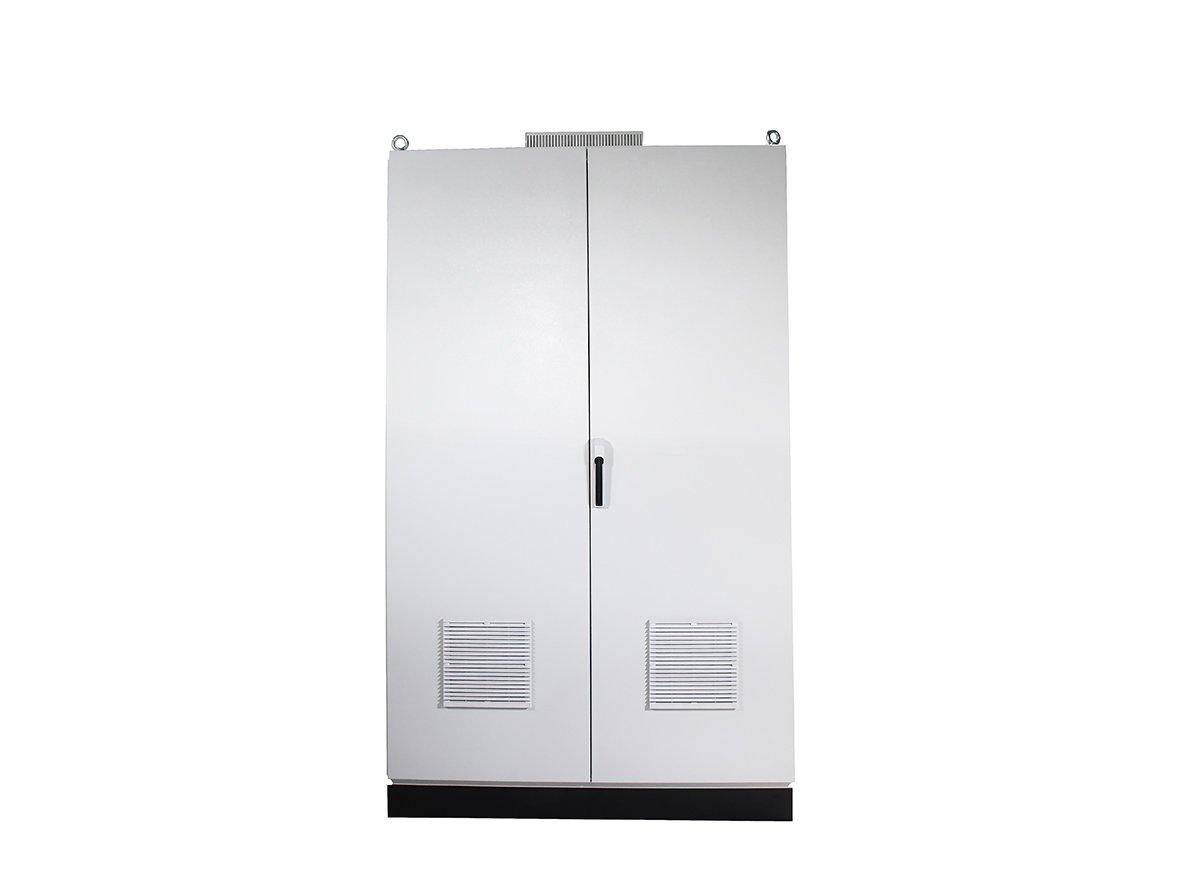 Double-door-free-standing-electrical-enclosure