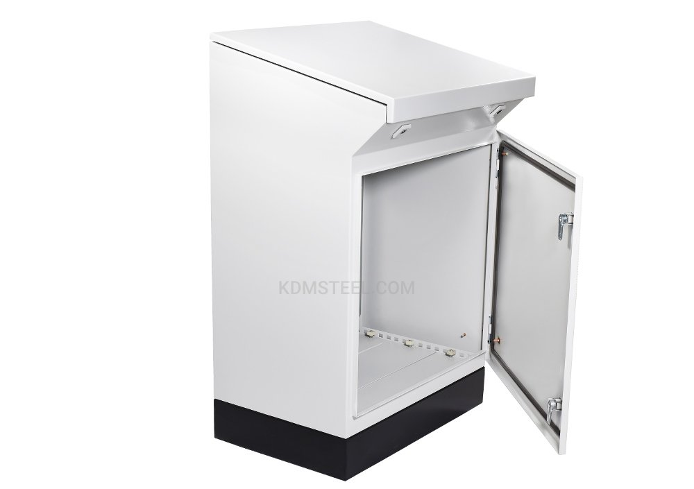 Freestanding electrical enclosure