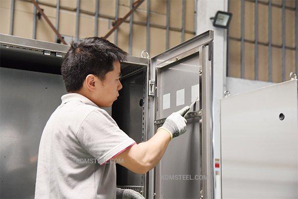 Galvanized Steel Enclosure DOORjpg