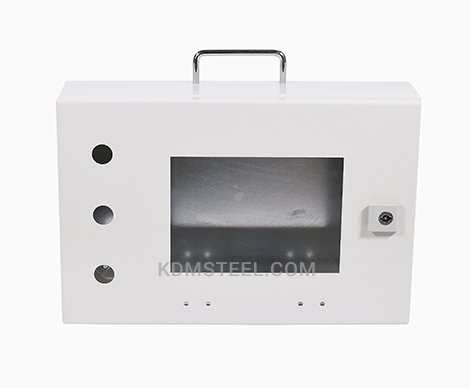 Galvanized Steel junction box with window