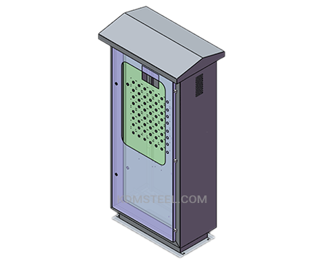 IP 56 stainless steel 316 outdoor electrical enclosure