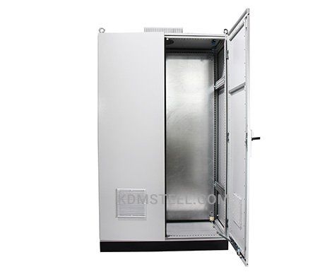 IP45 carbon steel free standing electrical enclosure