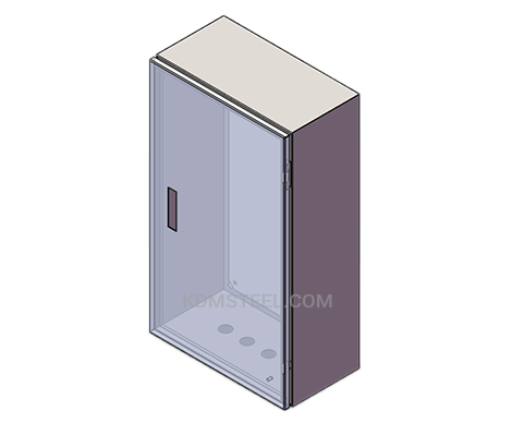 IP45 carbon steel junction box