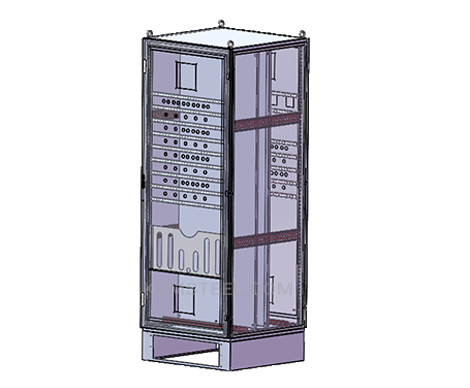 IP45 customized stainless steel 316 free standing electrical enclosures