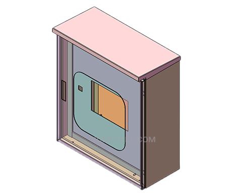 IP65 carbon steel junction box