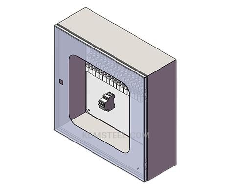 IP66 carbon steel junction box