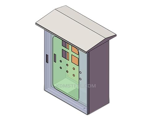 IP66 weatherproof junction box