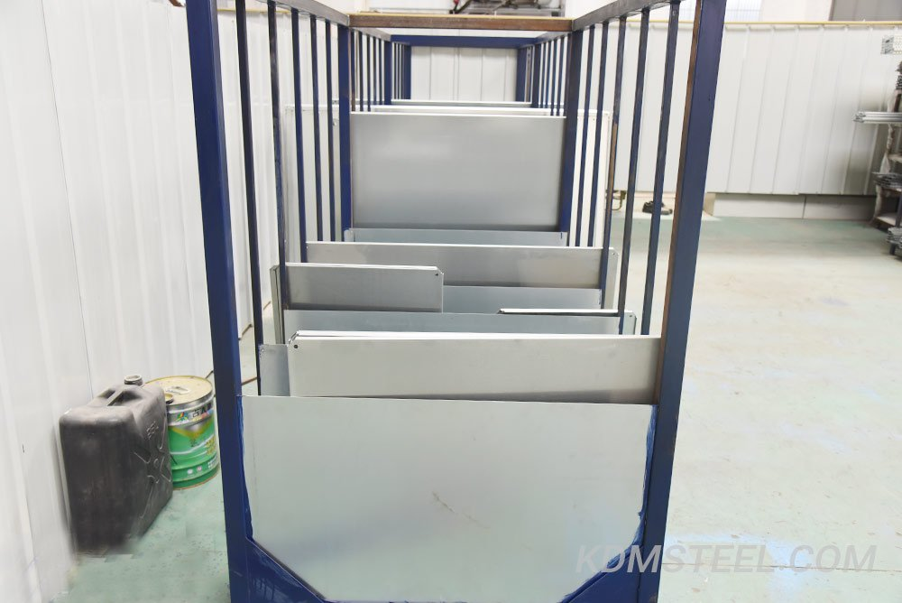Large electrical enclosure material