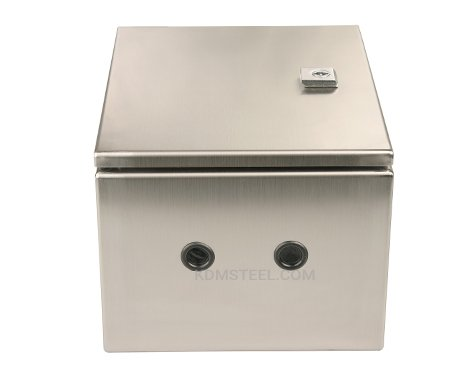 Lockable steel electrical enclosure