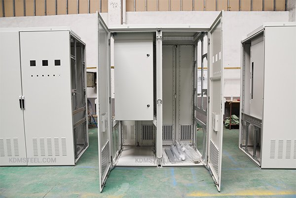 Multiple door electrical enclosure