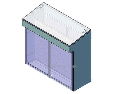 NEMA 1 desk console enclosure