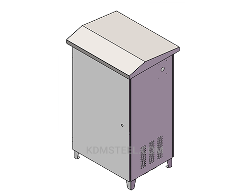 NEMA 4 outdoor stainless steel electrical cabinet
