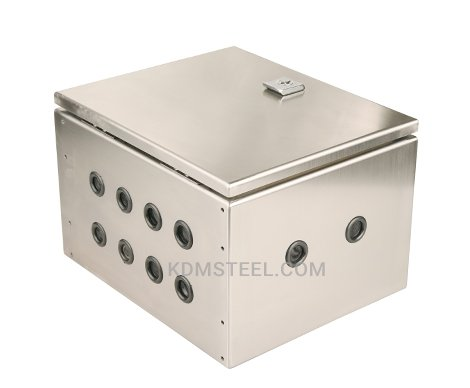 NEMA 4 stainless steel junction box