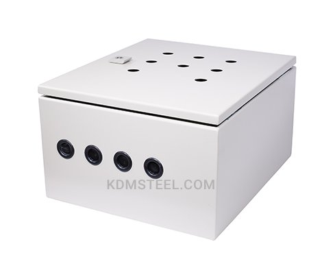 NEMA 4 weatherproof carbon steel junction box