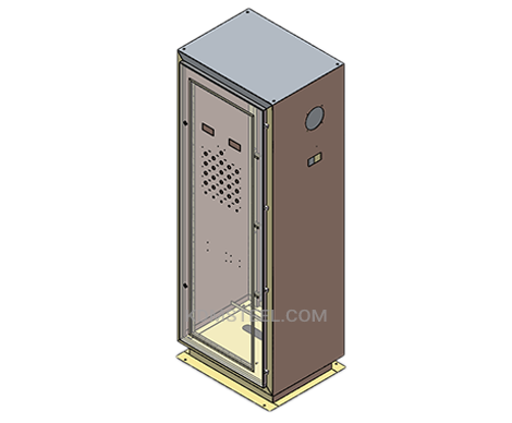 NEMA 4X electrical panel enclosure
