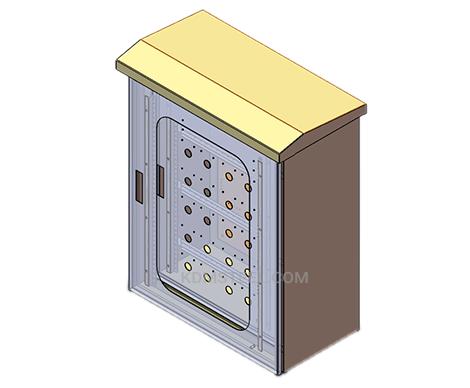 NEMA 4X stainless steel junction box
