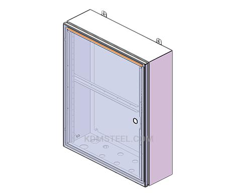 NEMA12 carbon steel junction box