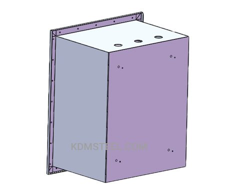 Recessed nema 4x enclosure
