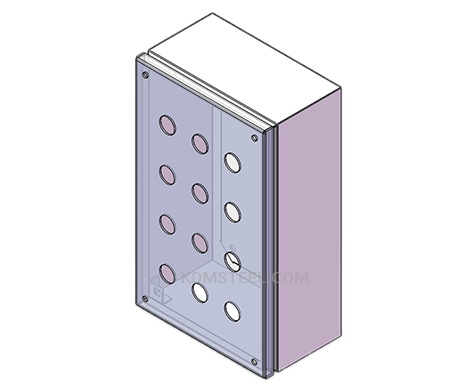 carbon steel Control Station Enclosures