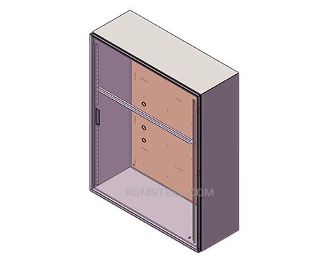 carbon steel IP55 enclosure box