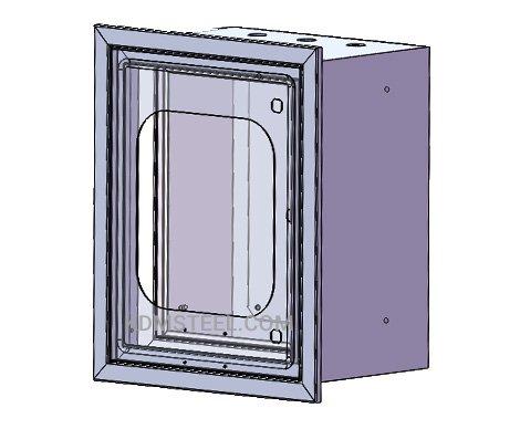 carbon steel Recessed nema 2 enclosure