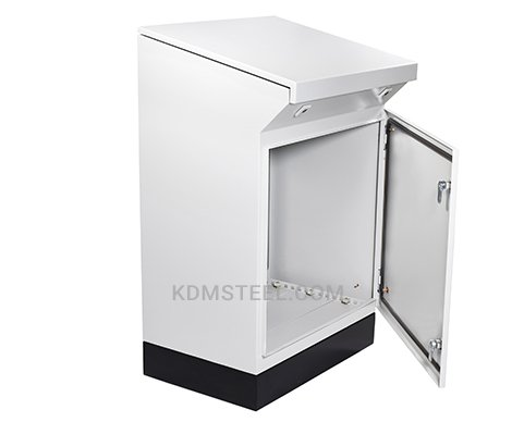 carbon steel painted desk console enclosure