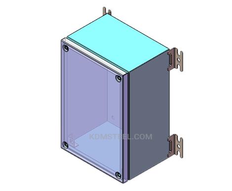 carbon steel wall mount nema type 12 enclosure