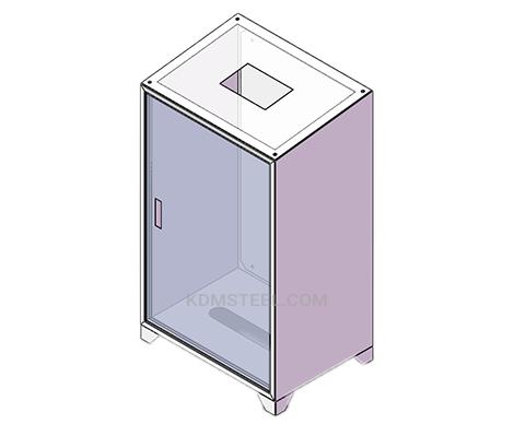cusetom floor mount washdown electrical enclosure