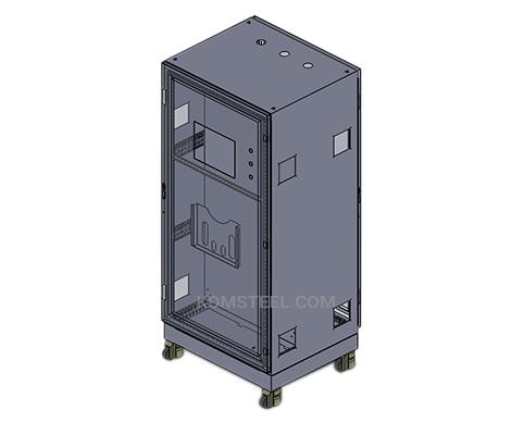 custom floor mount single door Disconnect Enclosures