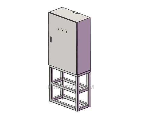 custom floor stand stainless steel control panel enclosures
