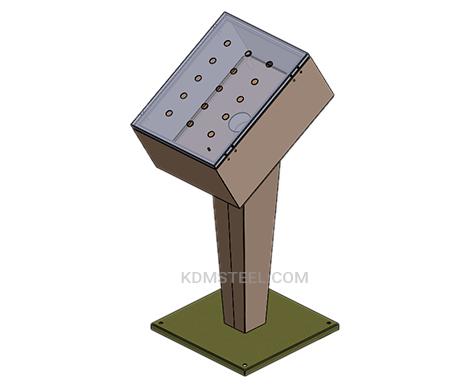 custom floor standing junction box
