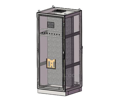 custom free standing stainless steel electrical metal enclosures